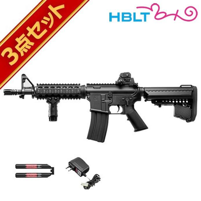 フルセット 東京マルイ M4 CQB-R ブラック 次世代電動ガン バッテリー 充電器セット