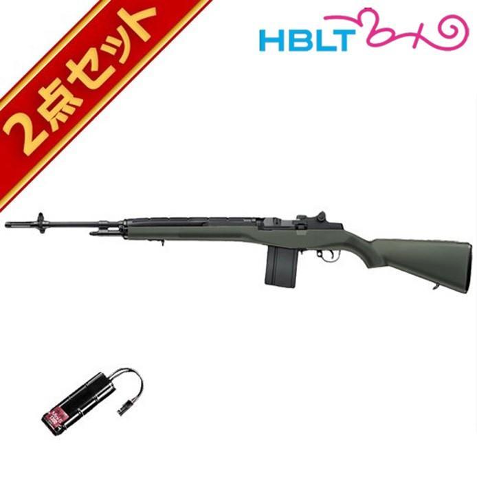 バッテリーセット 東京マルイ USライフル M14 ファイバーODストックバージョン 電動ガン