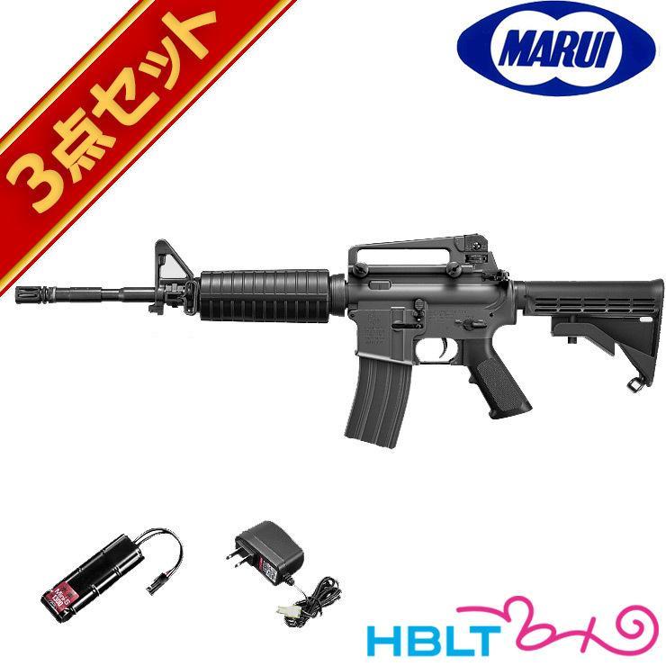 フルセット 東京マルイ M4A1カービン 電動ガン バッテリー 充電器セット