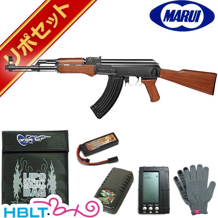 東京マルイ AK47 スタンダード電動ガン リポバッテリー フルセット