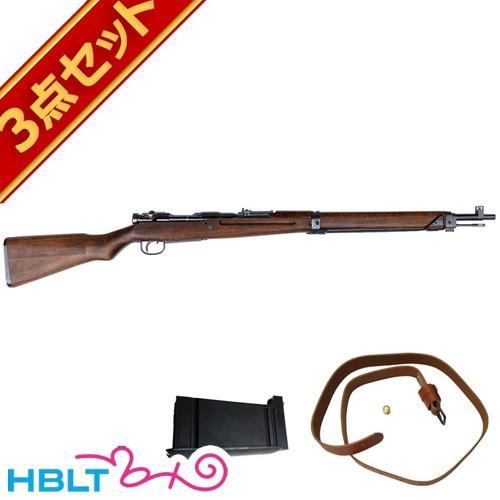 タナカワークス 九九式短小銃 Ver.2 グレー スチール フィニッシュ ガスライフル スペアマガジン スリングセット