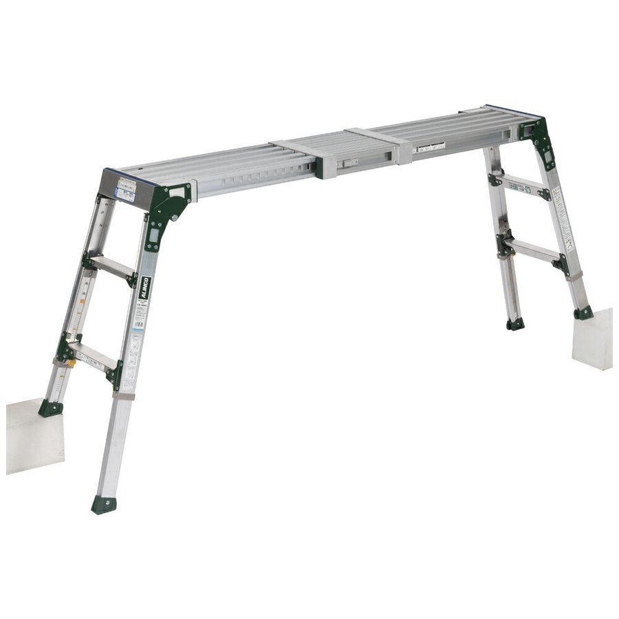 VSR-1409FX 伸縮天板 伸縮脚付足場台 アルインコ ALINCO はしご ハシゴ 梯子 園芸用品 作業台