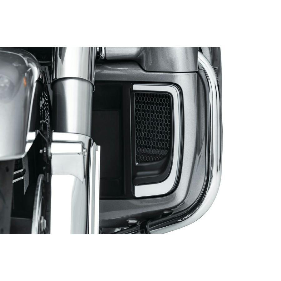 高品質新品 クリアキン 5064 トレーサー LED フェアリングロワーグリル サテンブラック 2014〜2021 FLHXSE FLHTCUTG FLHTCU SE L FLTRU お見舞い FLHTK