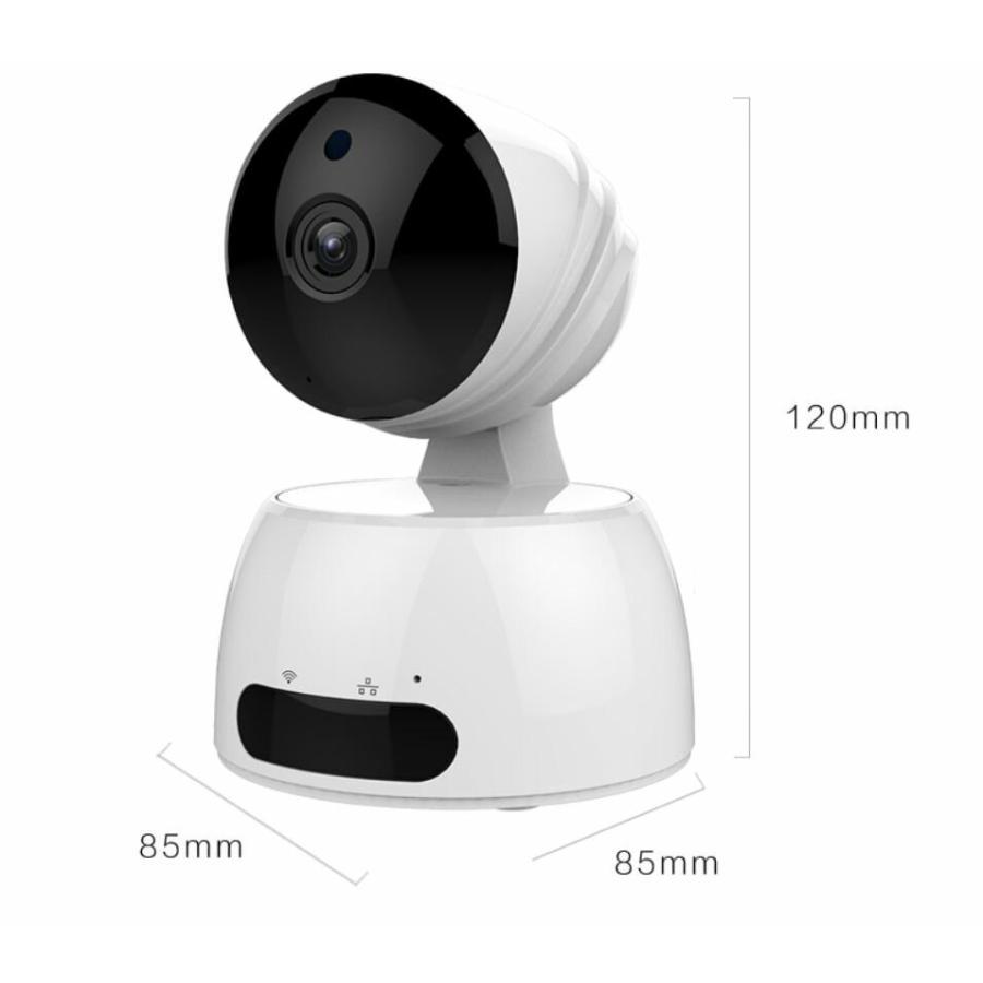 見守りカメラ ベビーカメラ 送料無料 ペットカメラ ネットワークカメラ 防犯カメラ 監視カメラ PTZ 首ふり パンチルト CK-IP350|hdc|09