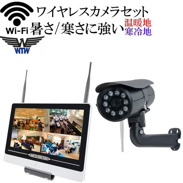寒冷地・温暖地対応モデル バリフォーカル ワイヤレス防犯カメラ 220万画素 WI-FI環境対応 塚本無線 HDC-EGR05 WTW-EGR823FH2 イーグル NVR|hdc