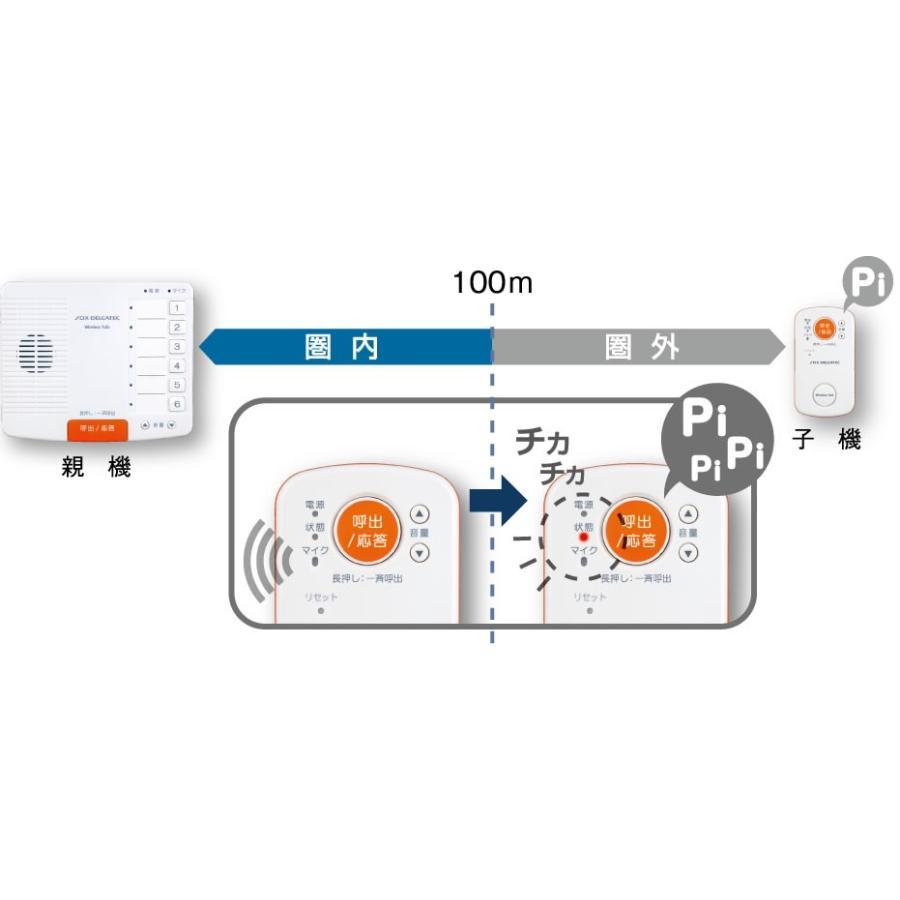 ワイヤレス インターホン WCP10CS6 ワイヤレストーク ドアホン|hdc|03