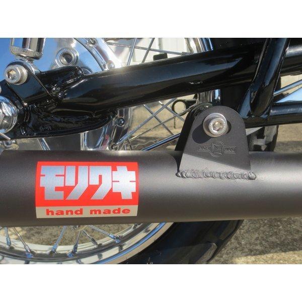 Z1/Z2 モリワキ ワンピース ブラック マフラー [Z ONE-PIECE BLACK] カワサキ (01810-40201-00)  ( 01810-40201-00 ) hds2020 04