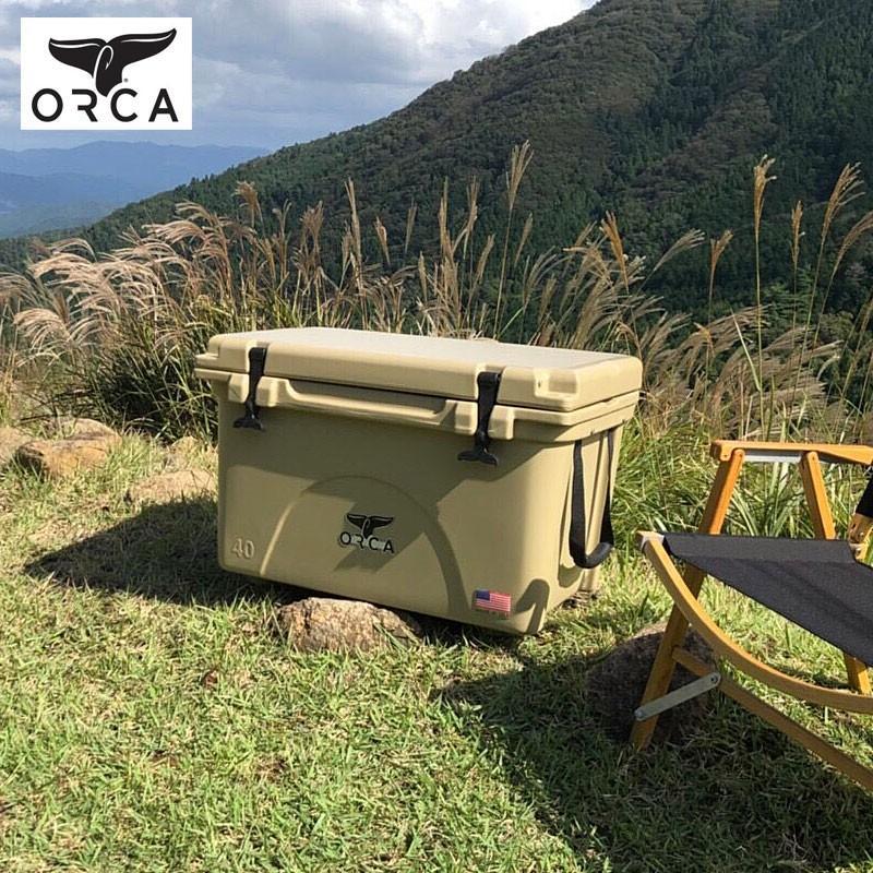 ORCA オルカ クーラーボックス ORCT040 ORCG040 ORCBK040 クーラーバッグ 保冷バッグ クーラーBOX 椅子 大型 大容量 おしゃれ