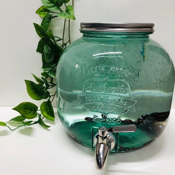 ウォーターサーバー 6L HEALBO濾材 25個入り  酸素水 ろ材 飲料 水道水 本体 卓上 小型 ドリンクディスペンサー  ガラス|healbo-shop|02