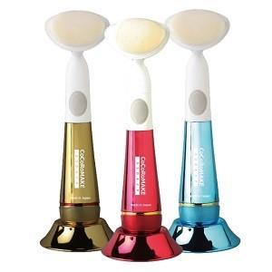 今すぐ使える400円クーポン有 COCOROMAKE 音波振動洗顔ブラシレッド MS-CM02R 3個セット 只今店長のお薦めプレゼント贈呈中。