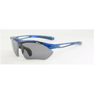今すぐ使える400円クーポン有 エレッセ スポーツ サングラス ES-7001H ブルー/ブラック