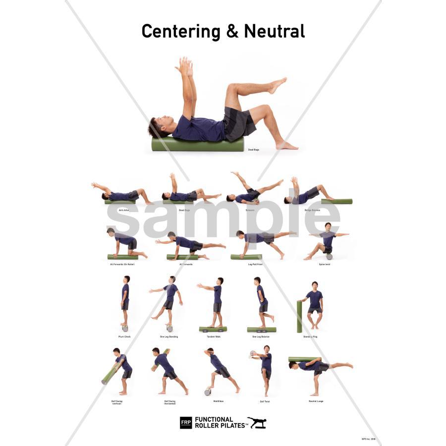 FRピラティス ポスター【Centering & Neutral】|healthselect