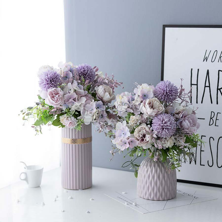 造花 枯れない花 可愛い 人工観葉植物 記念日 花瓶付 造花セット 置物 インテリア おしゃれ 誕生日 玄関 ダイニング 美術館 爆買い新作 ホーム プレゼント リビング ギフト