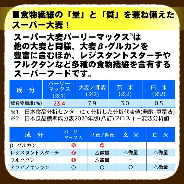 バーリーマックス 300g スーパー大麦 メール便 送料無料 セール特売品|healthy-c|05