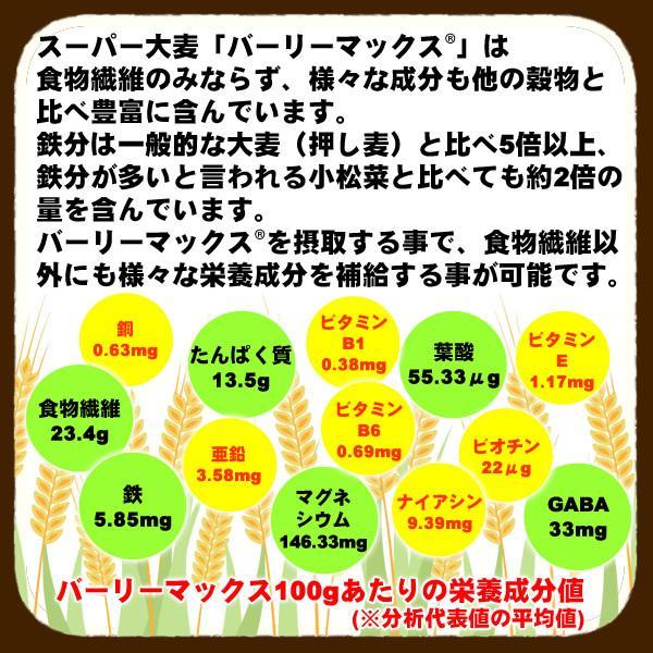 バーリーマックス 300g スーパー大麦 メール便 送料無料 セール特売品|healthy-c|08