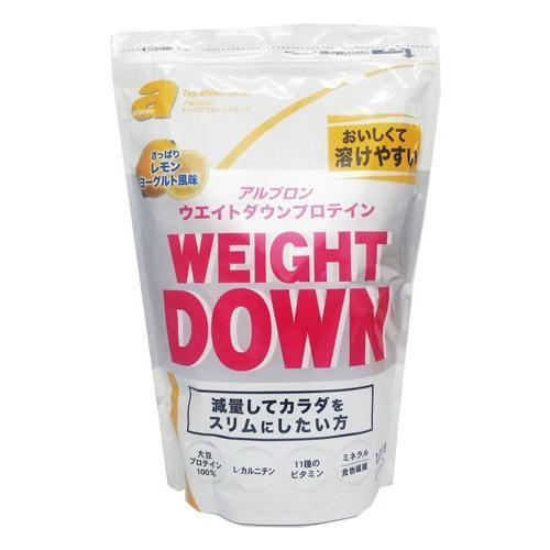 アルプロン トップアスリートシリーズ ウエイトダウン プロテイン レモンヨーグルト風味 1050g  - アルプロン|healthy-good