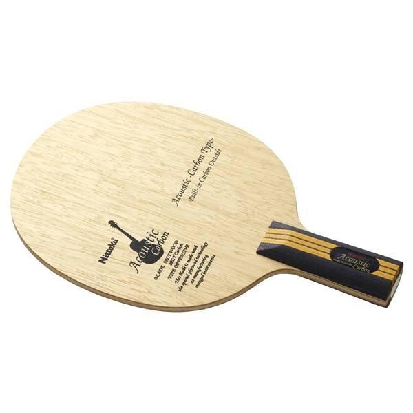 【最安値に挑戦】 ニッタク 卓球 ラケット ペンホルダー 攻撃用 アコースティックカーボン C  - ニッタク, ドレスショップJewel 426cc665
