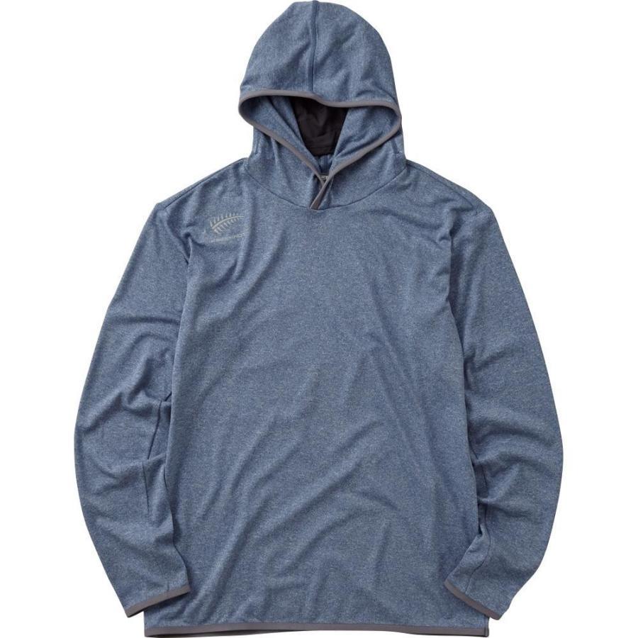 HYOON プルオーバーフーディー ブルー Y1519-LL-70
