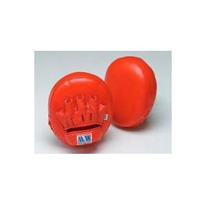 PM68-RD マーシャルワールド 赤 マルチパンチングミット 定番キャンバス 最安値挑戦