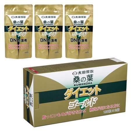 即納 送料無料 太田胃散 好評 桑の葉ダイエット ゴールド 180粒X3袋