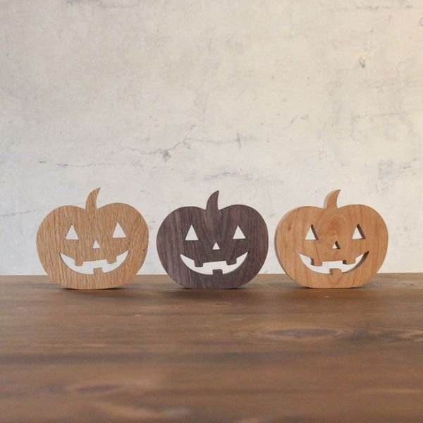 ハロウィン 飾り 直営限定アウトレット かぼちゃ ナチュラル 木製 無垢材 おばけかぼちゃ おばけ ハロウィングッズ パンプキンゴースト ハロウィン飾付け おしゃれ パンプキン 至上 北欧
