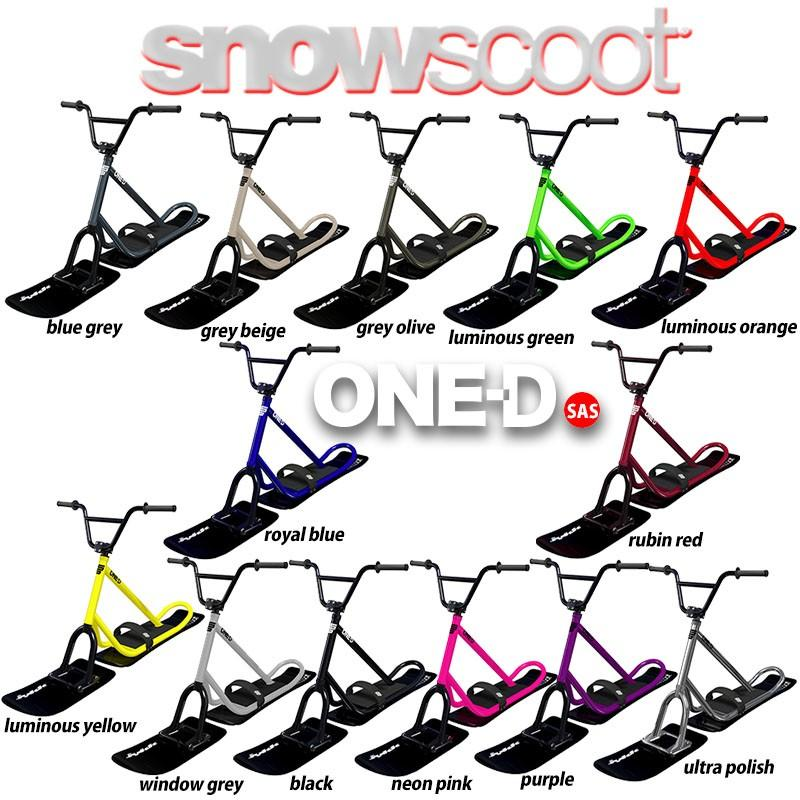 スノースクート JYKK SNOWSCOOT ONE-D (ワンデー)