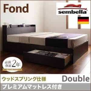 高級ドイツブランド【sembella】センべラ【Fond】フォンド(ウッドスプリング仕様)【プレミアムマットレス】ダブル