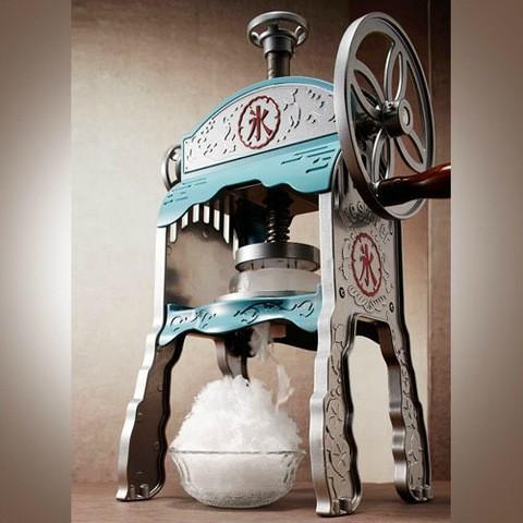本格かき氷屋さんのふわふわ氷かき器(かき氷機) カキ氷 IS-AL-1500 ドウシシャ