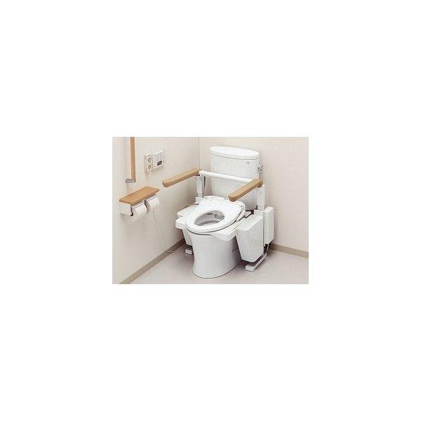 TOTOエムテック トイレリフト EWC151介護用品 福祉用具 排泄関連 簡易 トイレ 補高便座 介護 福祉