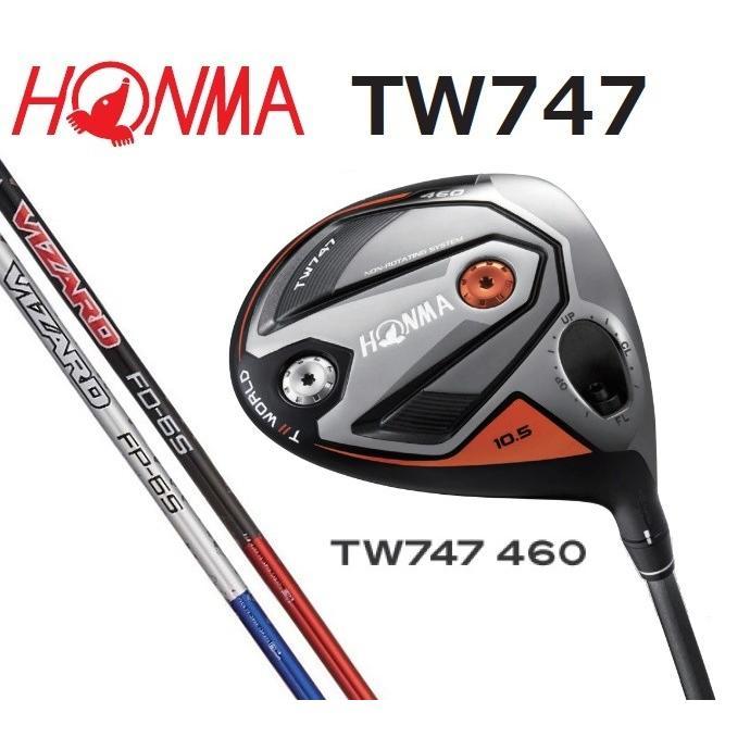 HONMA ホンマ TOUR WORLD TW747 460 ドライバー VIZARD FD/VIZARD FP