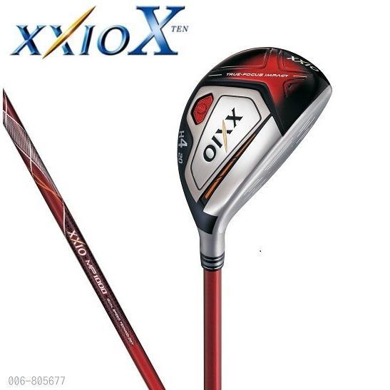 ダンロップ XXIO X(ゼクシオ10)ハイブリッド(ユーティリティ)【レッド】MP1000