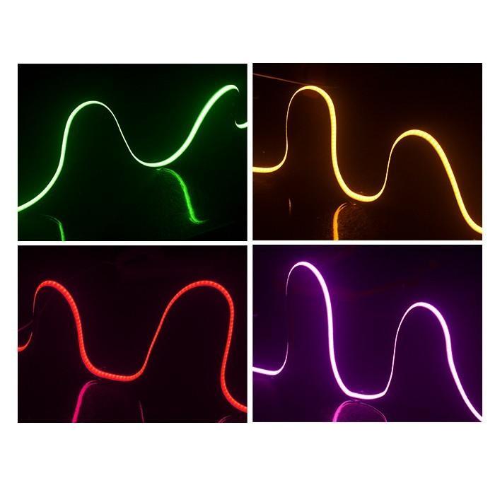 送料無料 強力発光  新型柔軟COB LEDテープライト 180連60cm デイライト パーツ 防水切断可  アイライン ストリップチューブ 正面発光 全7色 2本セット heartsystem 09