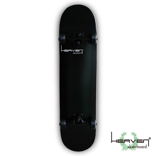 スケートボード 31×7.625 スケボー スケート コンプリート ブラック 1番人気 PERFECT Vitamin 黒 HEAVEN SKATE 訳あり