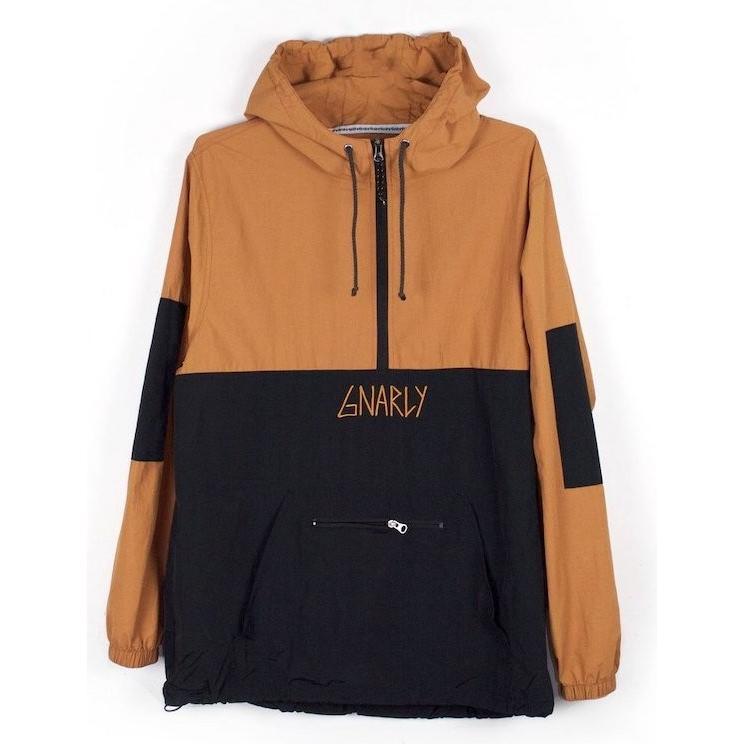 Gnarly Danorak Jacket 褐色 XL パーカー 送料無料