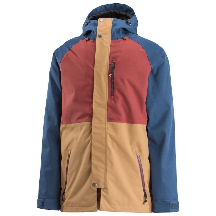 18-19 Airblaster Yeti Stretch Jacket Navy Camel S 送料無料