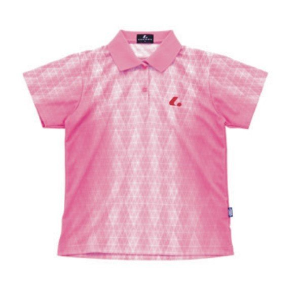 XLP-4642 パステルピンク  LUCENT ルーセント Ladies ゲームシャツ ポロシャツ レディース メール便対応可 スポーツウエア