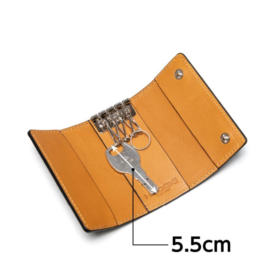 キーケース 革 4連金具 メンズ レディース スマートキー|hedge|06