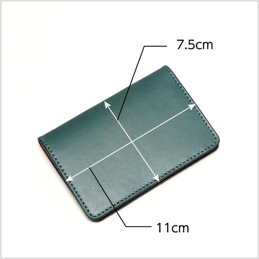 免許証入れ 二つ折り 革 定期入れ メンズ レディース カードケース|hedge|05
