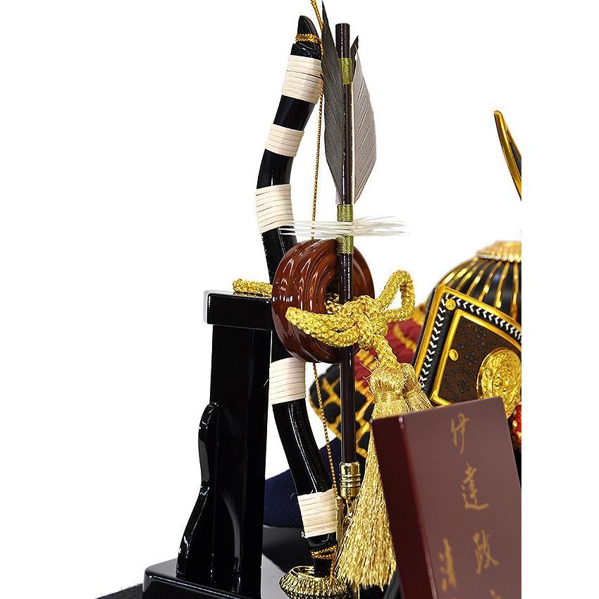 五月人形 伊達政宗 兜 ケース飾り コンパクト アクリルケース 兜飾り 平安泉匠作 人形の平安大新 hm12014|heiandaishin|08