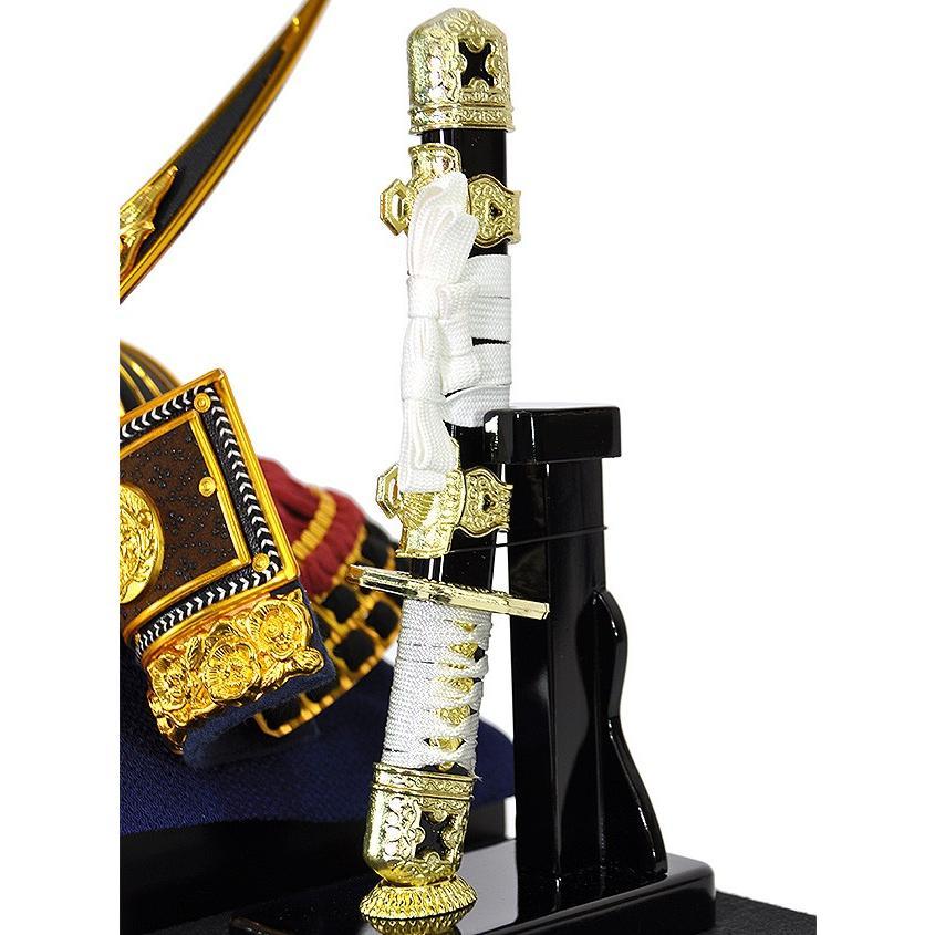 五月人形 伊達政宗 兜 ケース飾り コンパクト アクリルケース 兜飾り 平安泉匠作 人形の平安大新 hm12014|heiandaishin|09
