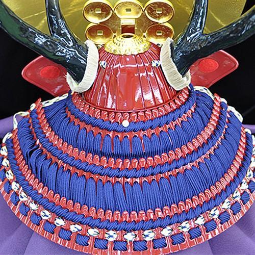 五月人形 真田幸村 兜 コンパクト 平台飾り 兜飾り 大越忠保作 人形の平安大新 hm12015|heiandaishin|04