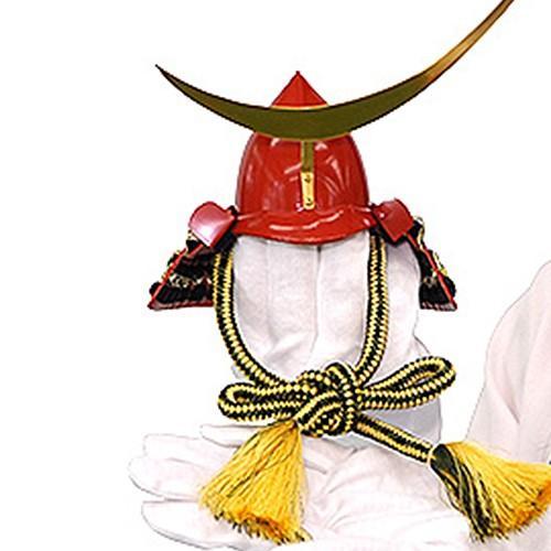 五月人形 伊達政宗 兜 コンパクト 収納飾り 正絹黒色糸縅 桐箱入り金屏風セット 本桐製 人形の平安大新 hm12041|heiandaishin|02