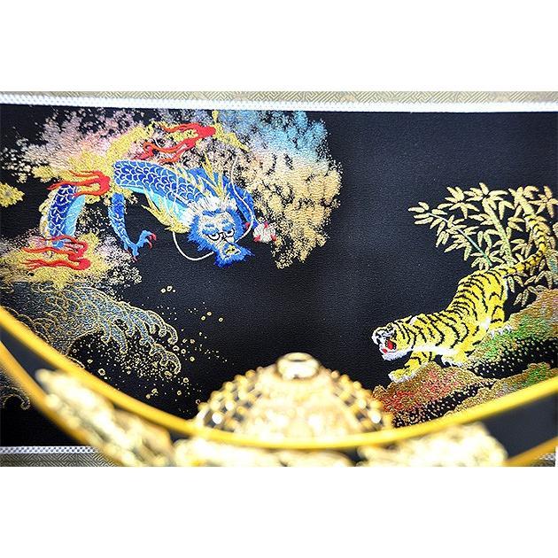 五月人形 伊達政宗 兜 コンパクト 収納飾り 兜飾り 吉右衛門作 人形の平安大新 hm12066|heiandaishin|08
