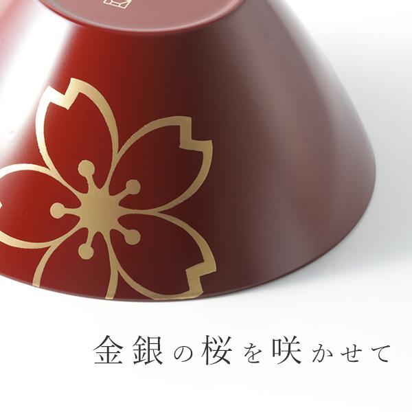 寿恵広鉢 睦桜(むつみざくら) 古代朱/白(ペア)|heiando|05