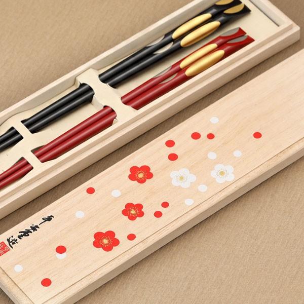 両親へのプレゼントにおすすめの山田平安堂の夫婦箸