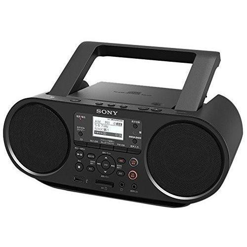 ソニー SONY CDラジオ Bluetooth/FM/AM/ワイドFM対応 語学学習用機能 電池駆動可能 ブラック ZS-RS81BT heiman