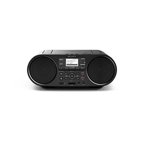 ソニー SONY CDラジオ Bluetooth/FM/AM/ワイドFM対応 語学学習用機能 電池駆動可能 ブラック ZS-RS81BT heiman 02