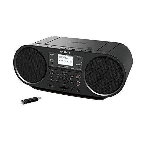 ソニー SONY CDラジオ Bluetooth/FM/AM/ワイドFM対応 語学学習用機能 電池駆動可能 ブラック ZS-RS81BT heiman 03