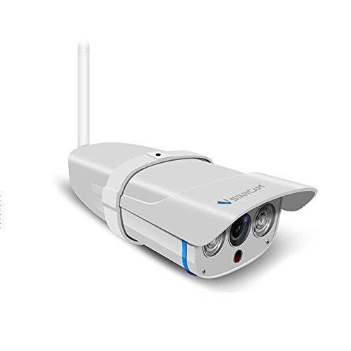 ネットワークカメラ 屋外 wifi 防水 防犯カメラ 100万画素 SDカード録画 赤外線暗視 遠隔操作可能 (C7816WIP 10|heiman