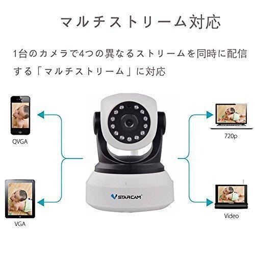 IP カメラ wifi 720p 監視カメラ 防犯カメラ 100万画素 双方向音声 遠隔操作 暗視機能 ベビーモニター ペット/子供/ heiman 04